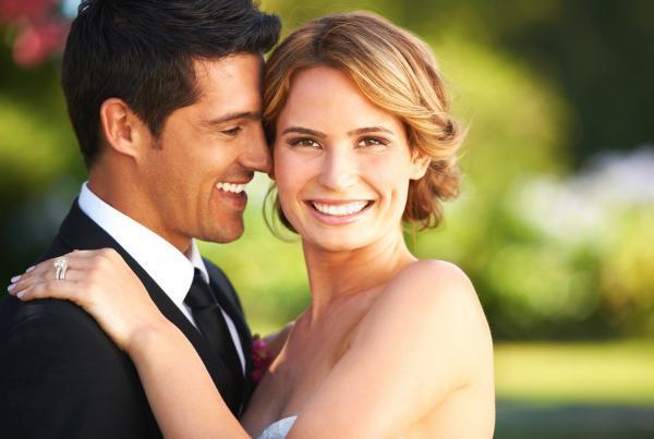 esküvő mosoly